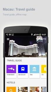 Macau: Offline travel guide - náhled