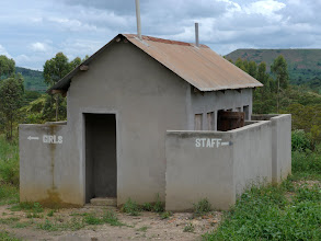 Photo: Toilets.  Boys have to go elsewhere.
