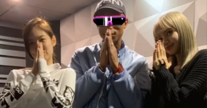 f83c39f454d16 Pharrell Spotted Chilling with BLACKPINK s Jennie and Lisa at His Recent Chanel  Event