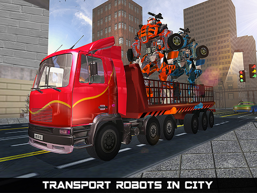 Car Robot Transport Truck  gameplay | by HackJr.Pw 11