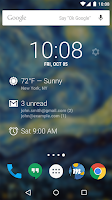 Screenshot of DashClock Widget
