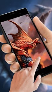 Cryptic Dragon Live Wallpaper - náhled