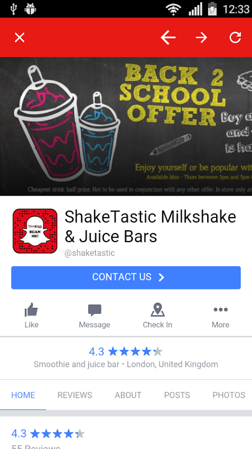 ShakeTastic®- screenshot