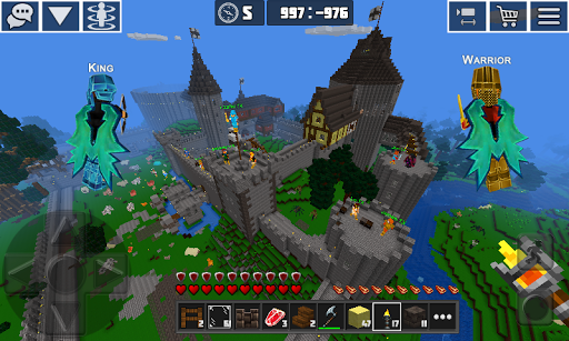 Planet Craft: Block Survival Craft Games Online  captures d'écran 3