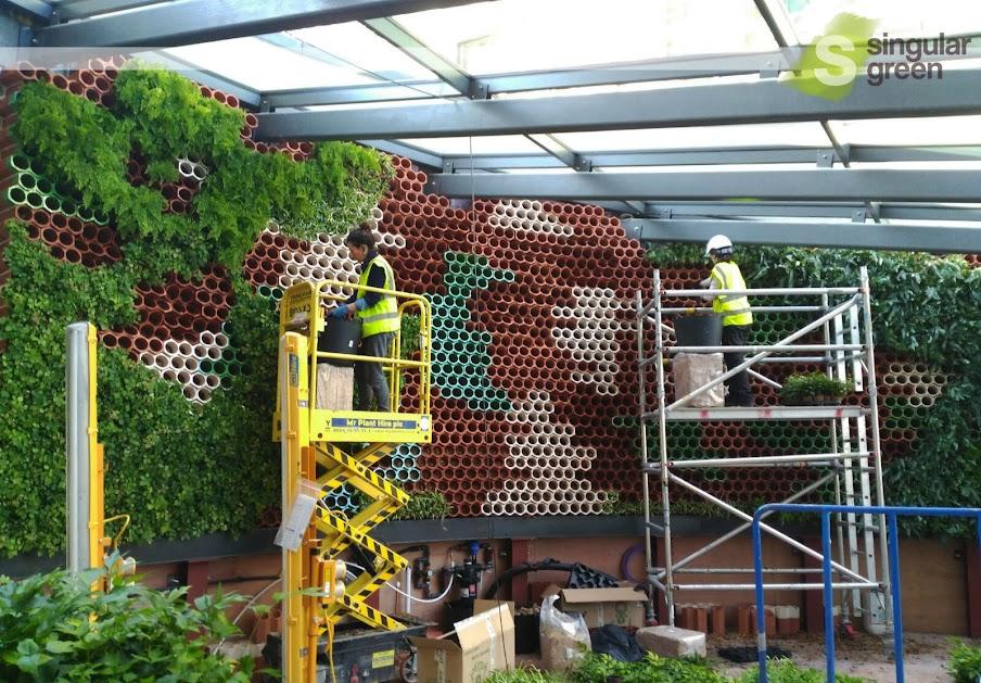 Jardín vertical EcoBin