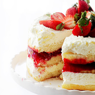Strawberry Shortcake Cake.