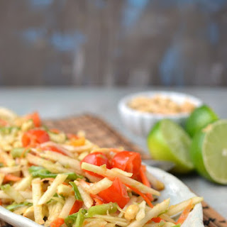 Thai Green Papaya Salad (Vegan Recipe).