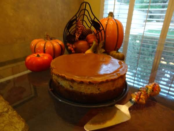 Autumn Harvest Caramel Apple Cheesecake Recipe