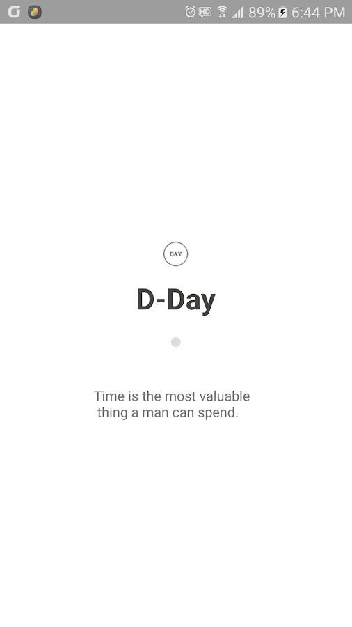 relationship day counter widget