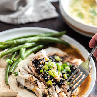 Steamed Fish with Black Bean Sauce (Steamed Version)