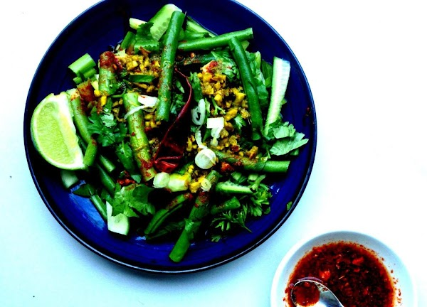 Urap Malaysian Salad With Kaffir Lime Dressing Recipe