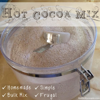 Bulk Homemade Hot Cocoa Mix
