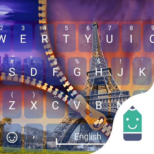 Zipper Paris Tower Keyboard