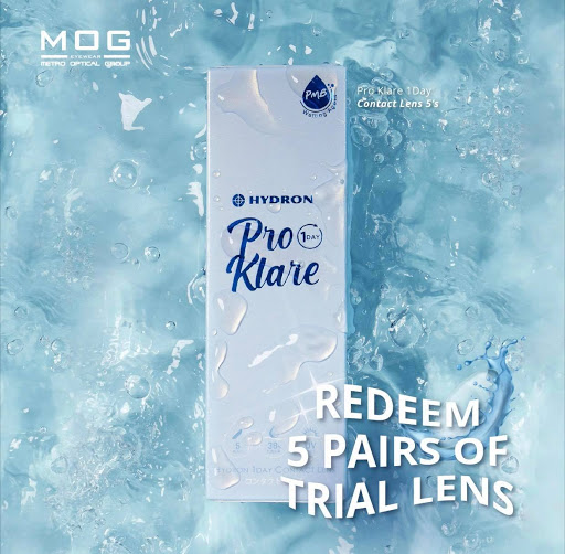 FREE Trial Pro Klare Clear Lens (5 pairs) Giveaway 送出5双影形眼镜试用品~