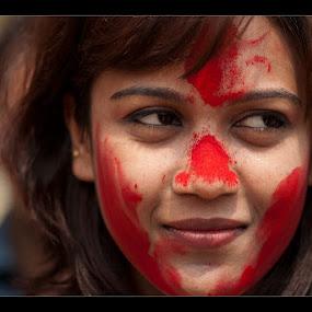 by Sayan Sarkar - People Portraits of Women
