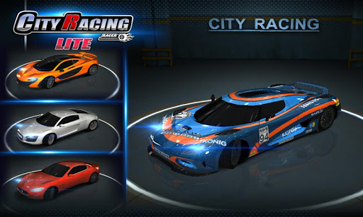 City Racing Lite screenshot 5