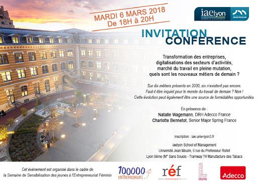Invitation Conférence