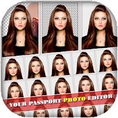 Passport Size Photo Editor