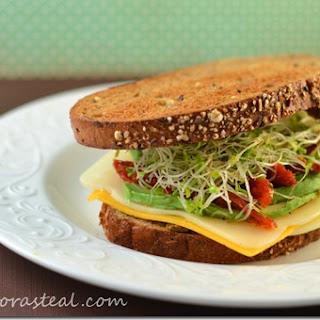 Emeril's Three Cheese Veggie Sandwich