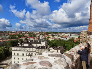Photo: Vilnius from Gediminas Hill