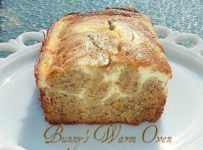 Banana Cream Cheese Bread Recipe