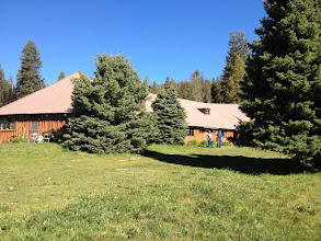Photo: Sulphur Creek Lodge For Breakfast. No Roads! Fly In only
