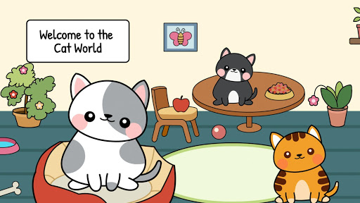 My Cat Townud83dude38 - Free Pet Games for Girls & Boys 1.1 screenshots 1