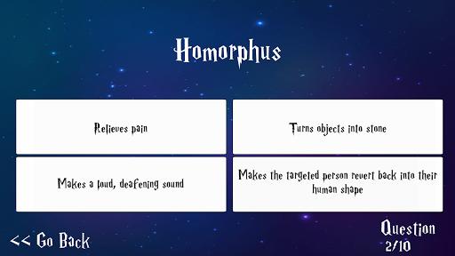 Trivia for Harry Potter Spells 1.0.1 screenshots 5