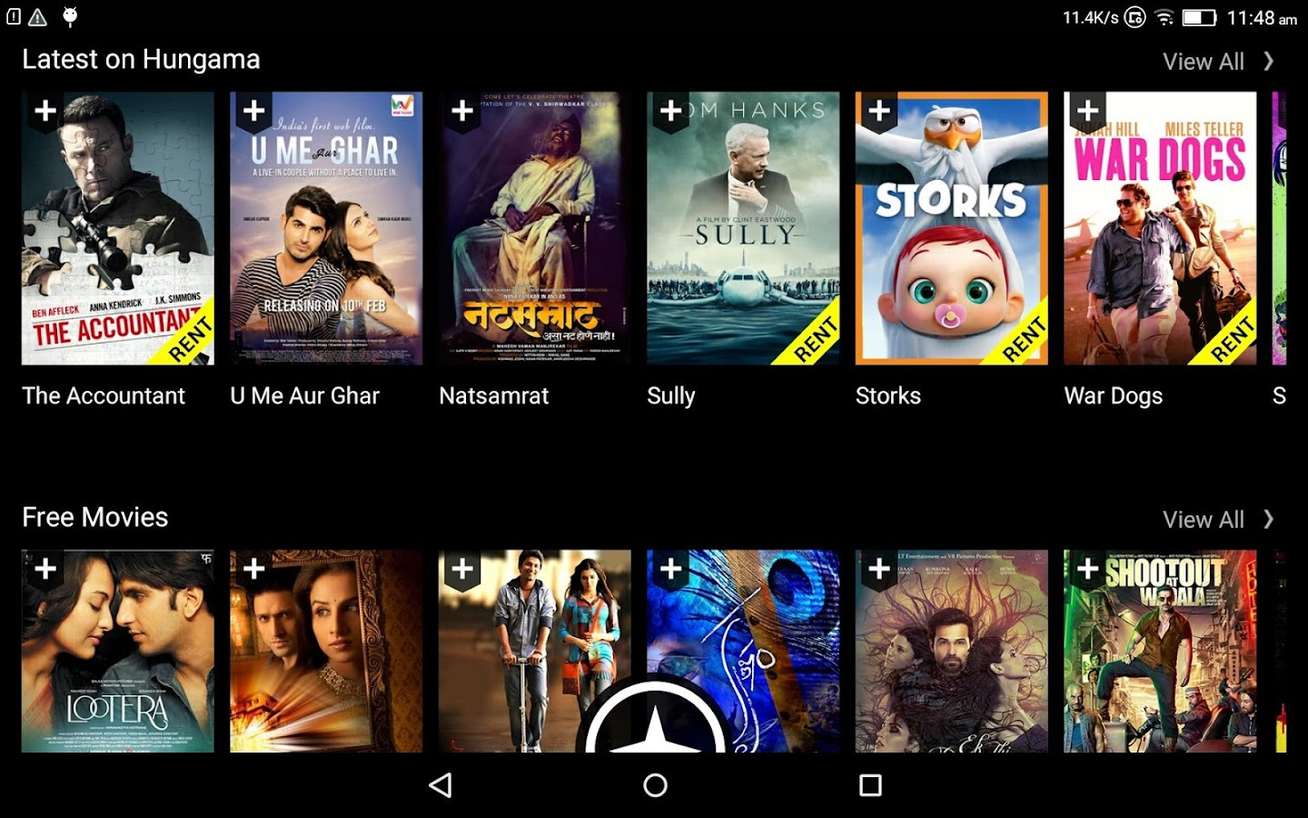 Hungama Play: Movies, TV, Kids- screenshot
