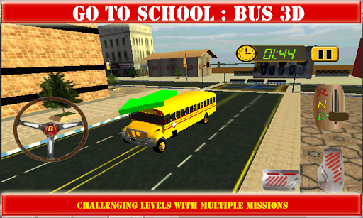 上学:巴士3D
