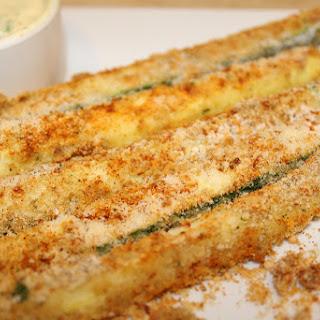 Crispy Oven Parmesan Zucchini Fries