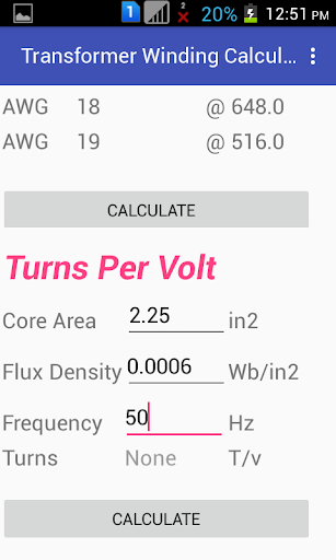 Transformer winding calculator apk download apkpure transformer winding calculator screenshot 4 greentooth Gallery
