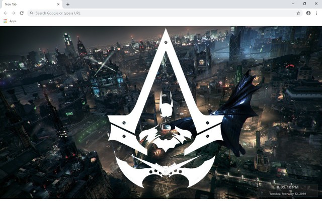 Assassin's Creed Rebellion New Tab Theme