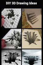 DIY 3D Drawing Ideas - screenshot thumbnail 02