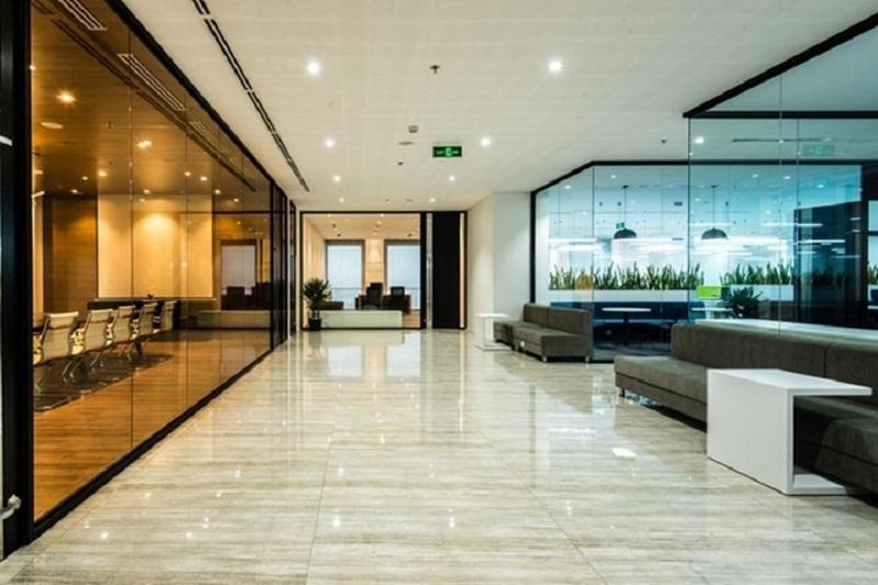 mẫu thiết kế nội thất văn phòng của ADP-architects