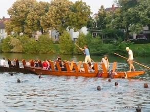 Photo: Und auch im Neckar baden ist möglich und sehr spaßig.