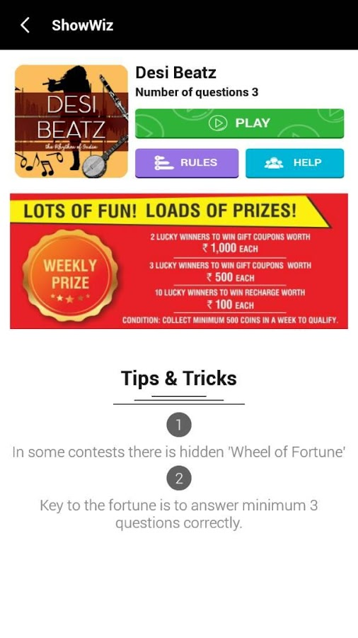 mChamp: Play Contests & Win- screenshot
