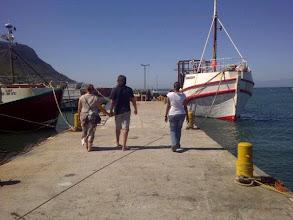 Photo: Walking the pier