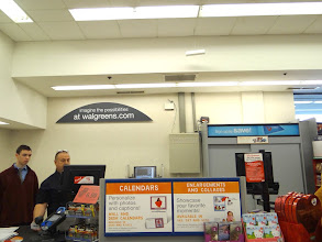 Photo: I then headed to the photo department at my local Walgreens.