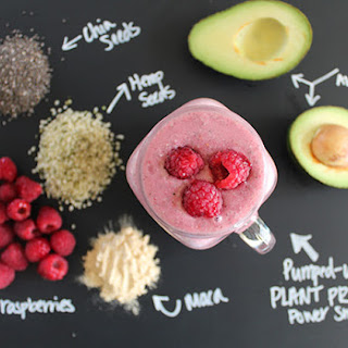 Pumped-up Plant Protein Power Smoothie