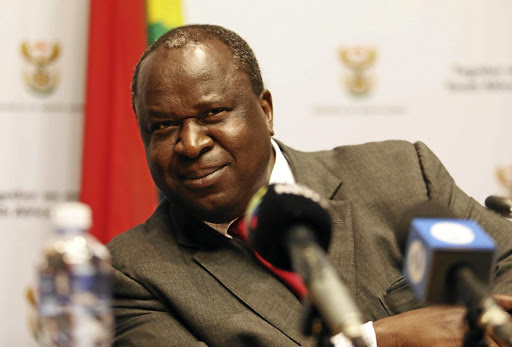 Finance minister Tito Mboweni is doing a good job, says President Cyril Ramaphosa. File photo.