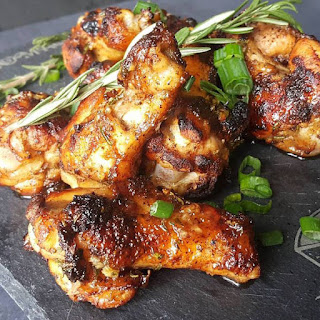 Honey Mustard & Sriracha Chicken Wings
