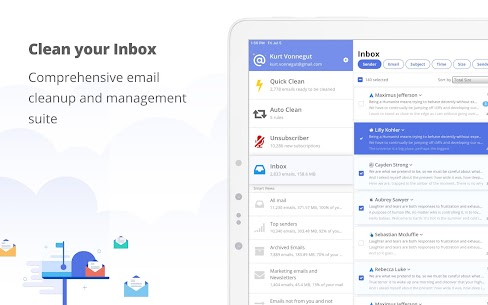 Clean Email App Latest Version Download For Android and iPhone 7