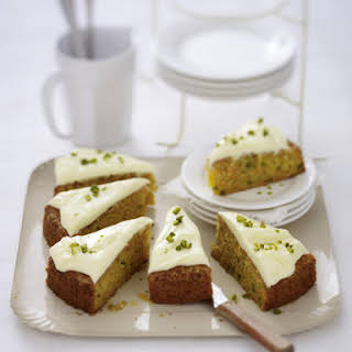 Carrot Cake with Pistachios.
