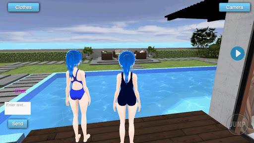 Miku Sakune Anime Girlfriend MMD Multiplayer 2.2 screenshots 1