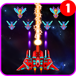 Galaxy Attack: Alien Shooter v7.15 MOD much money