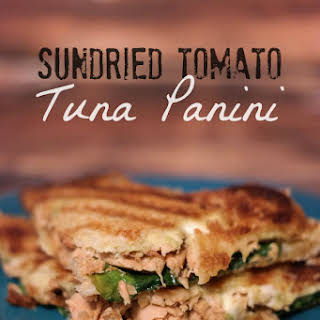 Sundried Tomato Tuna Panini.