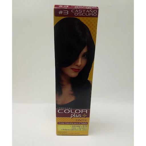 Tinte Color Plus Tubo Castano Oscuro.