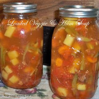 Ham Stock & Veggie Soup