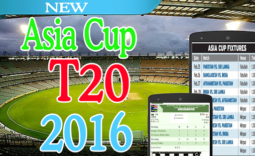 Asia Cup T20 live Cricket 2016